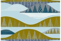 Craftsy - Hand embellishing knit fabrics - stencil inspiration / by Andrea Cuda