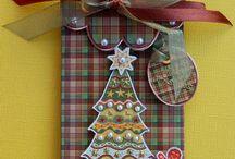 Christmas Voucher Holders
