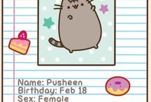 PUSHEEN THE CAT / This board has pictures of the adorable pusheen!