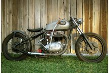 Custom Bike: Bobber Option / Quick board with inspiration for OEM bike build.