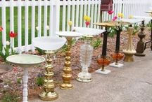 Upcycled Cake Stands