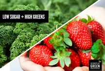 Power to the Leafy Greens and  Low Sugar Fruits