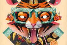 illustration Animals