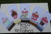 Guardavientos cupcakes
