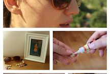 DIY: Decorate your own Sunglasses / Inspiration and how to's on decorating unique and fashionable sunglasses!