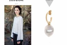 VENYX for ZEUS+ΔΙΟΝΕ / Zeus+Dione teams up with Greek born fine jewelry designer Eugenie Niarchos of VENYX, offering a collection that consists of elegant and versatile pieces you can wear every day. The pieces combine simple but yet unique details inspired by the Greek olive tree, elaia. This special collaboration with Eugenie Niarchos offers the same attention to detail and craftsmanship as her eponymous fine jewelry line VENYX.  Make them your everyday signature!