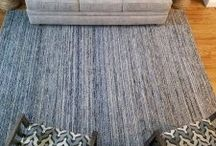 FLOORING PROJECTS / Client's flooring projects of wood flooring, tile, custom rugs.