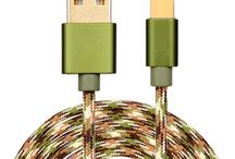 nylon braided Micro data cable usb for Android