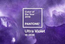 COLOR PANTONE 2018 - Ultra violet