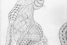 Paisley colouring pictures