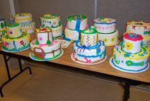 Youth cakes from classes  / Cakes done by youth 8-17 in classes