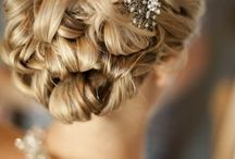 Wedding- Bridal Hair / Wedding, bridal hair,  Updo's.  How to wear your hair on your wedding day.
