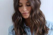 Ashy hair
