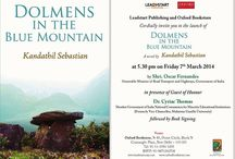 Dolmens in the Blue Mountain / Join Book Launch Dolmens in the Blue Mountain at Oxford Bookstore, New Delhi