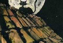 ~♥~CAT ART~♥~ / by Diane Harris-Day