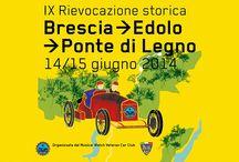 IX Rievocazione storica Brescia->Edolo->Ponte di Legno 2014 / Immagini scattate a Tavernola Bergamasca (BG)