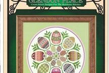 haft krzyżykowy Wielkanoc