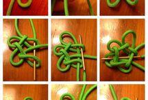 Узелочки - узелки / Разные виды плетения, кумихимо, макраме, бытовые узлы
