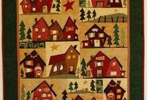 quilts & houses