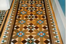 Front door / Victorian tiles