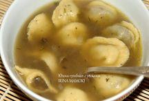 Супы Грибные / Очень легкие и питательные супы, если грибы обработаны заранее - готовятся на раз-два)))