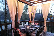 Smaller Pergolas & fire pits