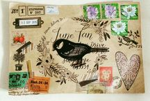snail mail/mail art