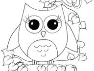 drawing :) / I love to draw and I use coloring pages as inspiration. drawing are so fun!!