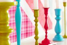 Decoração para casa || Home Decor / Grandes ideias para pintar e decorar móveis - não há lugar como o lar!