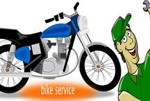 Two wheeler service  in Gwalior / Two wheeler service by professional mechanics. Full service includes a comprehensive 33 point check list & fully equipped service stations, water-wash + polish, doorstep pickup & drop, Genuine Spares. #DreamBikeService #GetAwroofers #DoorstepInGwalior
