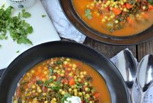 Soups and Stews / Delicious soups and stew recipes, healthy and nutritious and easy to make.