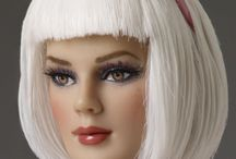Dolls / beautiful pieces of plastic that make dust collecting fashionable / by Jill Sinski