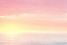 Pastel beach images