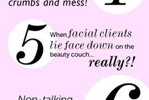 Beauty therapist thoughts