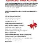 Red Ribbon Week...Just Say NO! / by Salina Jeffcoat