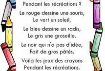 POETRY french kids/ poesie enfants / poetry poesie