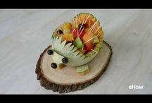 Crafty Foods / The place where you are encouraged to play with your food! From carving apples to molding Jolly Rancher's, we've got the best food crafts for you here.