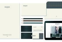 BRAND IDENTITY ELEMENTS / Graphic design & art direction by Mikina Dimunova