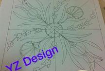 çini tasarım / çizimlerim