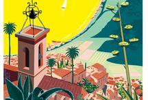 Les Affiches de la Côte d'Azur