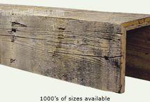diy wood beams