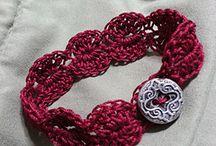 crochet jewelry/accessory