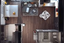 Apartment/Studio Designs
