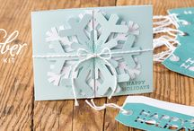 Paper Pumpkin November 2014 - Simply Snowflake / November 2014 Paper Pumpkin Kit