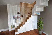 Aménagement intérieur - Vivanbois / Vivanbois : Aménagement interieur: agencement, parquet, escalier, mobilier...
