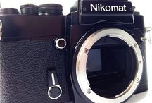 Nikon Nikkormat EL 35mm SLR Film Camera Body Only