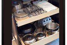 Pull Out Shelf Solutions / Imagine quality, pull out, easy glide shelves that help you 'Live Life Within Reach' whether it's in the kitchen, the bathroom, the laundry, your home office etc. Would you believe the Canadian based company, Gliding Shelf Solutions Inc. (www.glidingshelf.ca) will also retrofit your storage furniture pieces like that antique armoire or entertainment unit that no longer houses your TV?