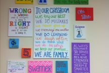 classroom ideas / by Heather Wood