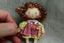 Брошки-куклы