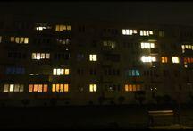 windows night